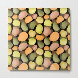 Sea pebbles 2. Metal Print