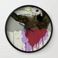 monroe Wall Clocks featuring Monroe by ODDITY