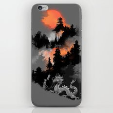 A samurai's life iPhone & iPod Skin