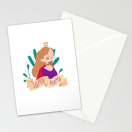 Super Mama Stationery Cards
