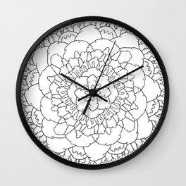 The Dick Mandala Wall Clock