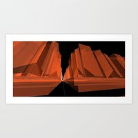 Fripp City C3 Art Print