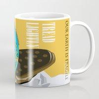 propaganda Mugs featuring Conservation Propaganda by Teighlor Made Art & Design