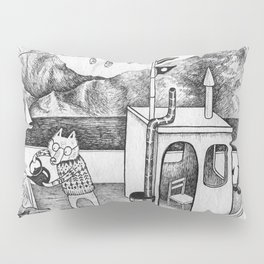 Fox on Fishing-boat Pillow Sham