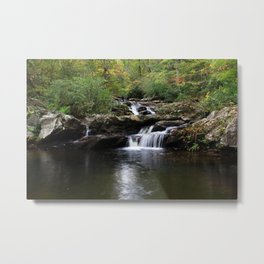 Photo USA Alabama Nature Waterfalls Forests forest Metal Print
