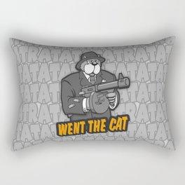 RATATATAT Went The Cat Rectangular Pillow