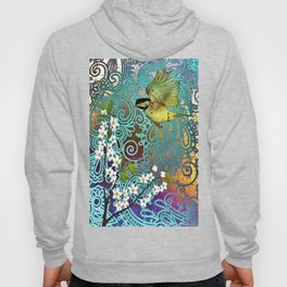 BIRD WITH CHERRY BLOSSOMS Hoody