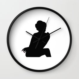 Irene Adler, The Woman - Sherlock Holmes Wall Clock