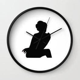 Irene Adler, The Woman - Sherlock Holmes Wall Clock