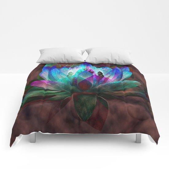 Lotus Land... Comforters