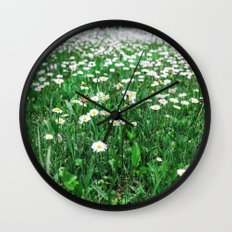 Daisy View Wall Clock