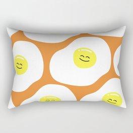 Fried Eggs Pattern Rectangular Pillow