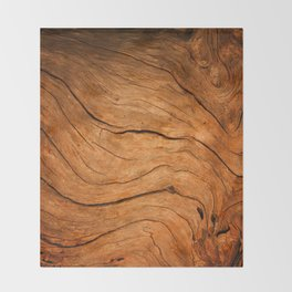 Wood Texture 99 Throw Blanket