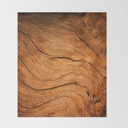 Wood Texture 99 Throw Blanket