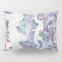 Seattle map Pillow Sham