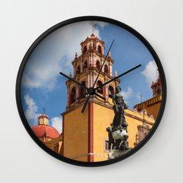 Guanajuato Basilica Wall Clock