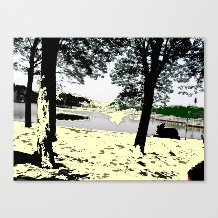 A Pleasant Day Canvas Print