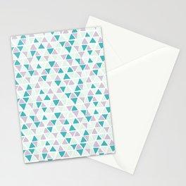 Geometrica poppy Stationery Cards