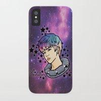 exo iPhone & iPod Cases featuring [EXO] - Sehun Galaxy by sagwa