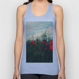POPPY FIELDS Unisex Tank Top