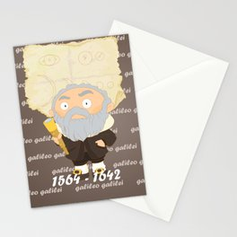 Galileo Galilei Stationery Cards