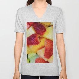 Tasty Fruit Unisex V-Neck