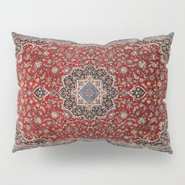 N63 - Red Heritage Oriental Traditional Moroccan Style Artwork Pillow Sham