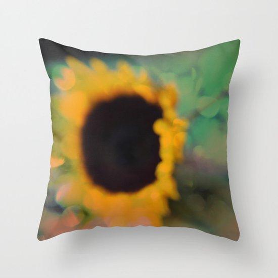 Sunflower III (mini series) Throw Pillow