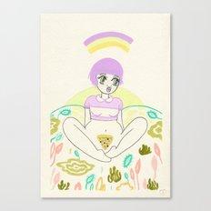 Pizza Slut Canvas Print