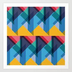 Crazy Abstract Stuff 2 Art Print