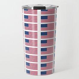 american flag 2-Usa,america,us,stars and strips, patriotic,patriot,united states,american,spangled Travel Mug