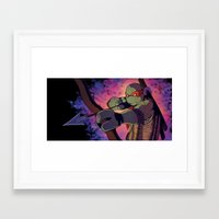 leonardo Framed Art Prints featuring Leonardo by Hitto