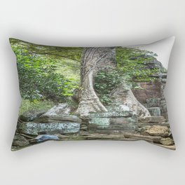 Ta Phrom, Angkor Archaeological Park, Siem Reap, Cambodia Rectangular Pillow
