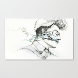 Smoky Mind Canvas Print