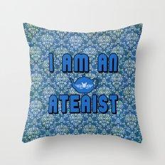 Ateaist Throw Pillow