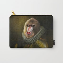 Portrait of Marquis de Mandrille Carry-All Pouch