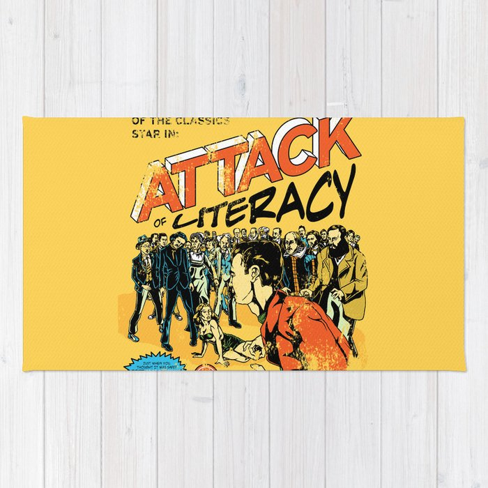 Attack of Literacy Rug