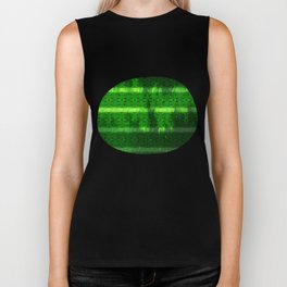 Metal Watermelon Rind Biker Tank