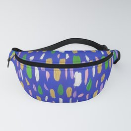 Bubbles and Blues Fanny Pack