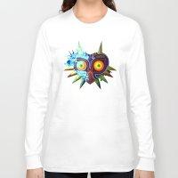 majoras mask Long Sleeve T-shirts featuring Majora's Mask - Twili by brit eddy