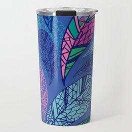 Feather Doodle Travel Mug