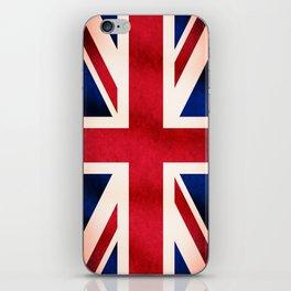 Union Jack UK British Grunge Flag  iPhone Skin