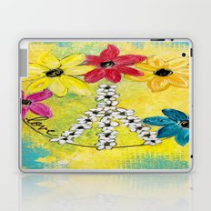 Peace & Love Laptop & iPad Skin