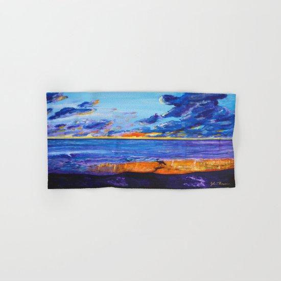 September sunset Hand & Bath Towel