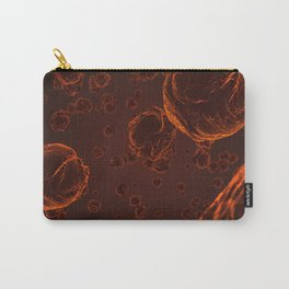 Abstract red virus cells Carry-All Pouch