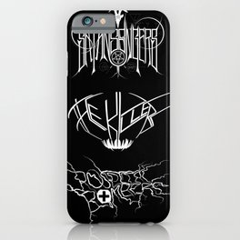 The Best Ever Death Metal Bands Out Of Denton iPhone Case
