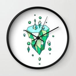 Little Emerald World Wall Clock