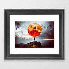 world of possibilities Framed Art Print