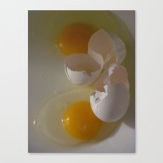 Two Eggs For Me Canvas Print