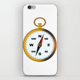 Golden Compas iPhone Skin